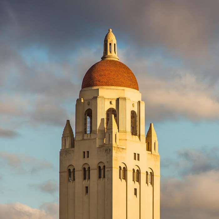 Stanford University Hoover Tower Crop